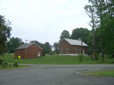 Ebenezer Church - Rear View image. Click for full size.