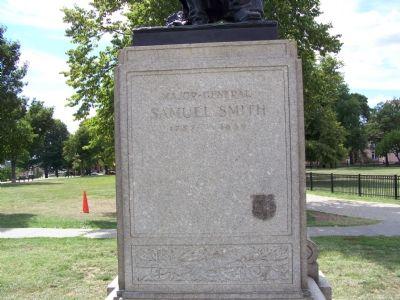 Major General Samuel Smith 1752 - 1839 Marker image. Click for full size.