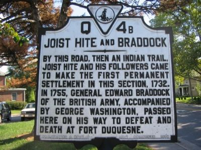 Jost Hite and Braddock (West Facing Side) image. Click for full size.