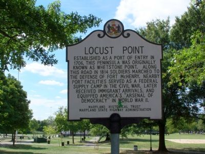 Locust Point Marker image. Click for full size.