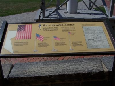 Star-Spangled Banner Marker image. Click for full size.