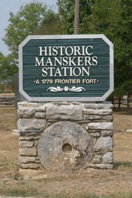 Mansker's Station Historic Site image. Click for full size.