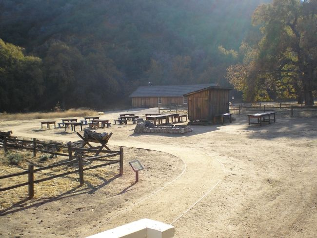 Ft Tejon Cookhouse and mess area image. Click for full size.