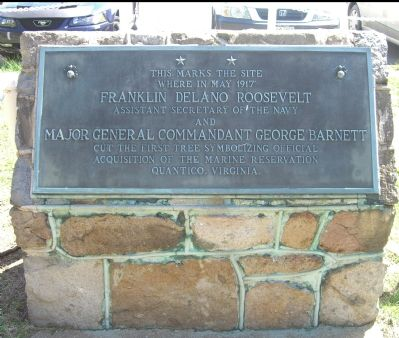 Acquisition of Quantico Marine Reservation Marker image. Click for full size.