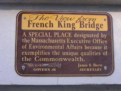 French King Bridge marker image. Click for full size.