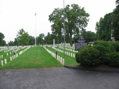 From the Entrace to the National Cemetery image. Click for full size.