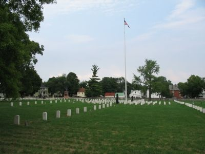 Winchester National Cemetery image. Click for full size.