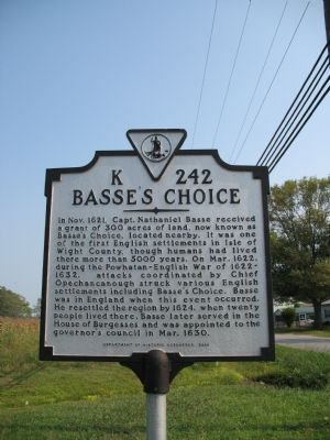 Basse's Choice Marker image. Click for full size.
