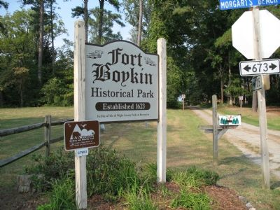 Fort Boykin Historical Park image. Click for full size.