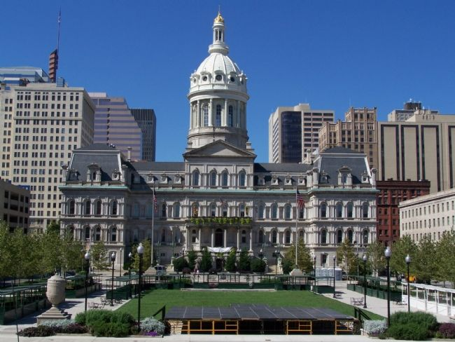 Baltimore City Hall image. Click for full size.