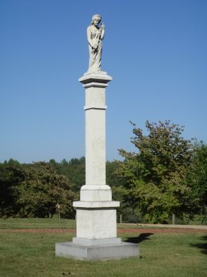 The Little Fork Rangers Monument image. Click for full size.