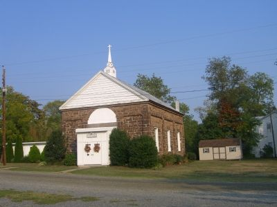 Hatcher's Memorial Baptist Church - Front image. Click for full size.