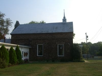 Hatcher's Memorial Baptist Church - North side image. Click for full size.