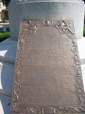 Francis Scott Key's Grave image. Click for full size.