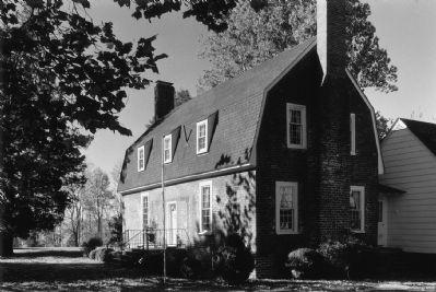 The Glebe House, c 1976 image. Click for full size.