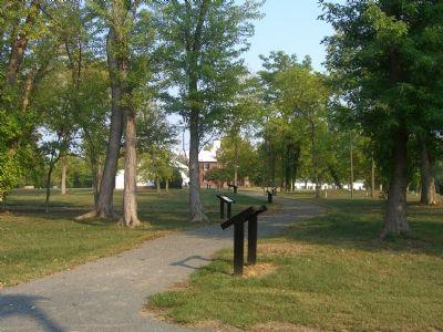 The History of Brentsville awaits visitors. image. Click for full size.