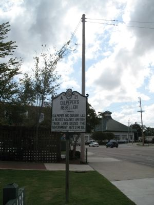 Culpepper's Rebellion Marker image. Click for full size.