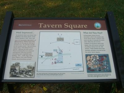 Brentsville –Tavern Square Marker image. Click for full size.