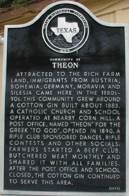 Community of Theon Marker image. Click for full size.
