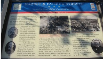 Market & Patrick Streets Marker image. Click for full size.