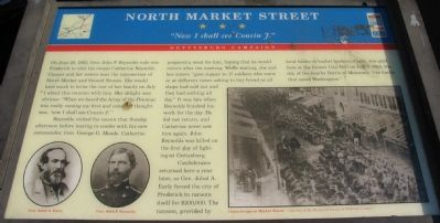 North Market Street Marker image. Click for full size.