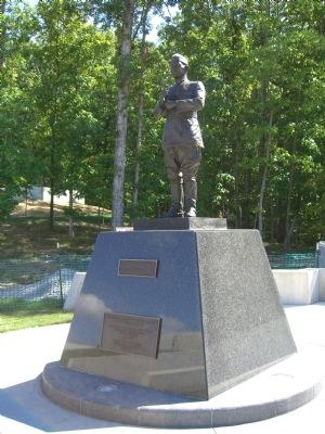 Lieutenant General John Archer Lejeune Monument at the National Museum of the Marine Corps image. Click for full size.