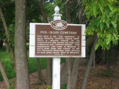 Fox – Irish Cemetery Marker image. Click for full size.