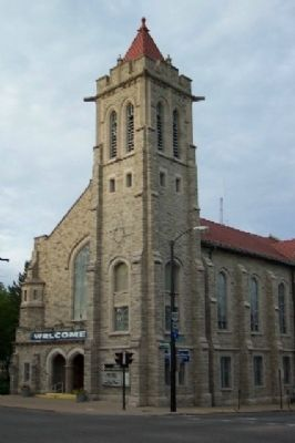 First United Methodist Church of Mansfield image. Click for full size.