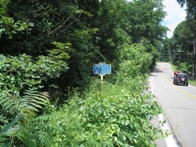 Marker on Route 9D image. Click for full size.