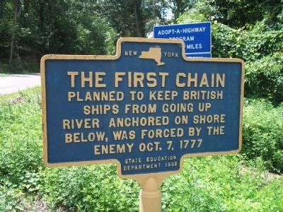 The First Chain Marker image. Click for full size.