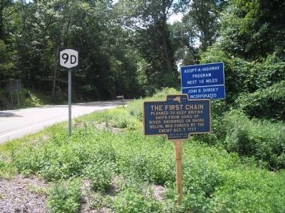 Marker on Bear Mountain Beacon Hwy image. Click for full size.