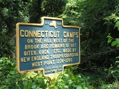 Connecticut Camps Marker image. Click for full size.