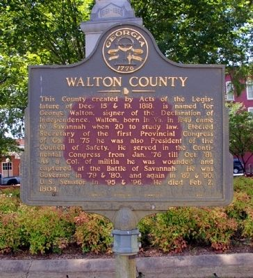 Walton County Marker image. Click for full size.