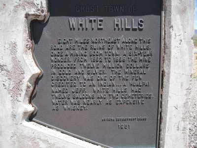 White Hills Marker image. Click for full size.