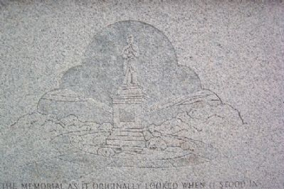 Richland County Soldiers' Monument Engraving of Original image. Click for full size.