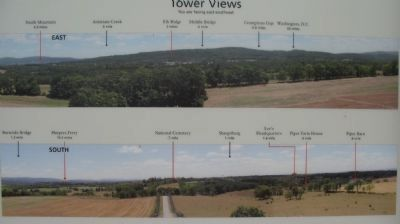 Tower Views East and South image. Click for full size.