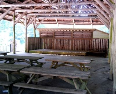 Caesars Head State Park Covered Picnic Area image. Click for full size.