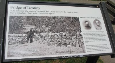 Bridge of Destiny Marker image. Click for full size.