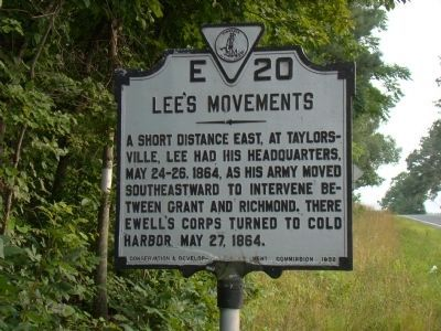 Lee's Movements Marker image. Click for full size.
