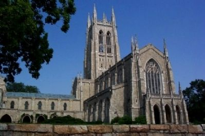 Bryn Athyn Cathedral image. Click for full size.