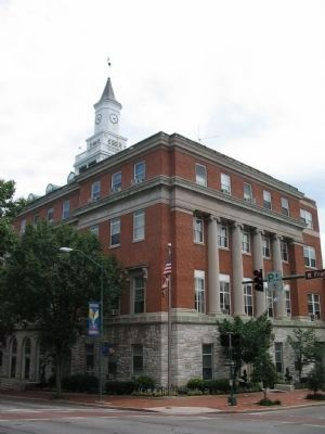 Hagerstown City Hall image. Click for full size.