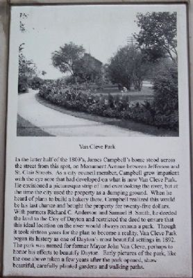 Van Cleve Park Marker image. Click for full size.