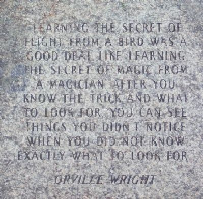 Orville Wright Paver image. Click for full size.