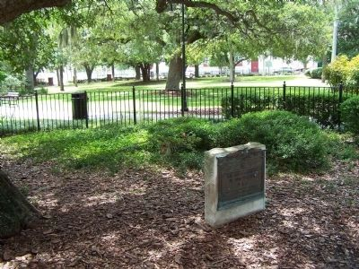 De Soto Marker, at Plant Park, U.of Tampa Campus image. Click for full size.