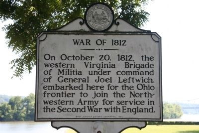 War of 1812 Marker image. Click for full size.