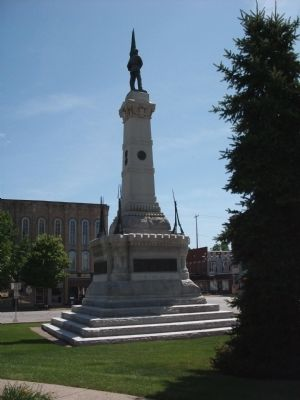 N/W View - - Civil War Memorial image. Click for full size.