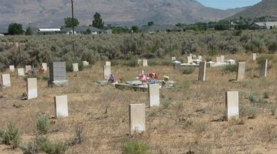 Dat-So-La-Lee Grave Site image. Click for full size.