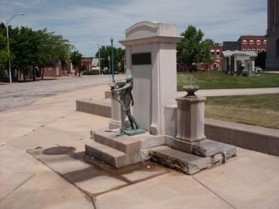 Other View - - Mr. & Mrs. M. M. Murphy Drinking Fountains image. Click for full size.
