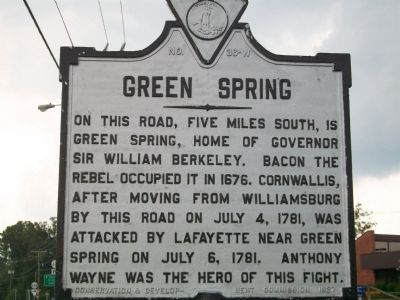Green Spring Marker image. Click for full size.