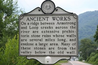 Ancient Works Marker image. Click for full size.